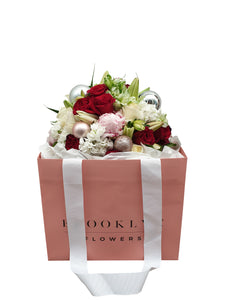 Festive Posy Bag - Brooklyn Flowers