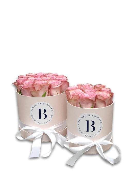 The Brooklyn Rose Box (Pink) - Brooklyn Flowers