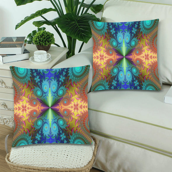 Throw Pillow Cover Fractal 18