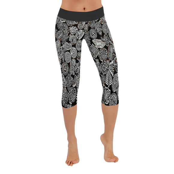 Leggings Namaste Capri- Women (5 colors)