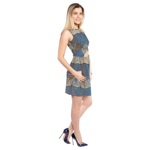 Knot Waist Extra Dimensional Belly Dress