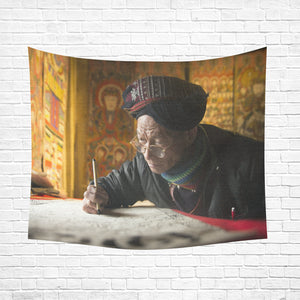 "Wall Tapestry Craftsman 60""x 51"""