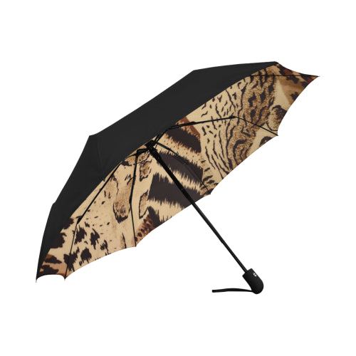 Anti-UV Automatic Jungle Umbrella (Underside Printing)