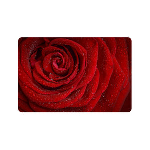 "Doormat Rosa 24"" x 16""(Rubber)(Made In USA)"