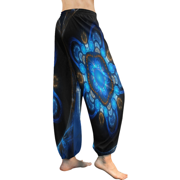 Harem Stained Glass Women's Pants (Model L18)