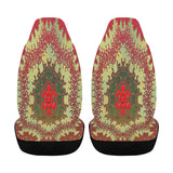 Car Seat Cover Mandala Wormhole Airbag Compatible (Set of 2)