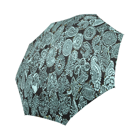 Automatic Foldable Namaste Umbrella- (6 colors)