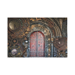 "FOX PRODUCTS- Wall Tapestry 90""x 60"" Gate To Gears"
