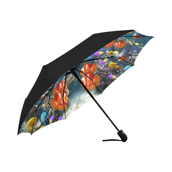 Anti-UV Automatic Aquarium Umbrella (Underside Printing (Model U06)