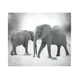 "Wall Tapestry Elephants 60""x 51"" (3 colors)"