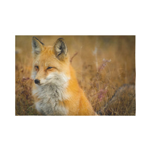 "FOX PRODUCTS- Wall Tapestry 90""x 60"" Resting Fox"
