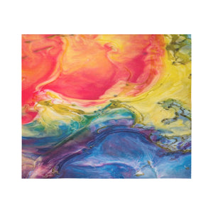 "FOX PRODUCTS- Wall Tapestry 60""x 51"" Color Magic"