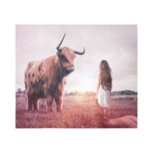 "FOX PRODUCTS- Wall Tapestry 60""x 51"" Bull Whisperer"