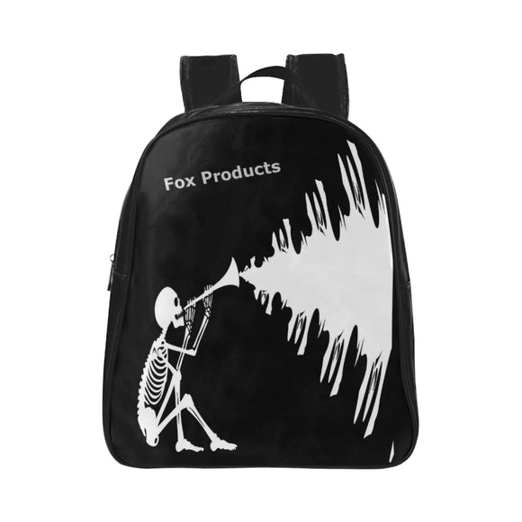 FOX PRODUCTS- School Bag Halloween Skeleton