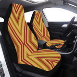 Car Seat Cover Gold Angular Airbag Compatible (Set of 2)