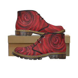 Women's Canvas Chukka Rosa Boots (Model 2402-1)