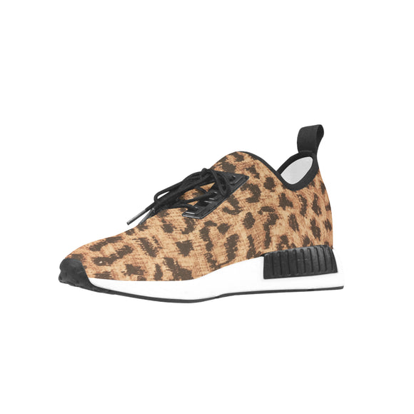 Draco Women's Leopard Sneakers (Model 025)