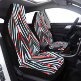 Car Seat Cover Zebra Cage Airbag Compatible (Set of 2)