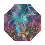 Anti-UV Automatic Fractal Feather Umbrella (Model U009)