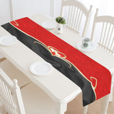 "Table Runner Golden Hearts 16"" x 72"""