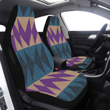 Car Seat Cover Purple Native Airbag Compatible (Set of 2)