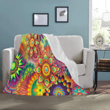 "FOX PRODUCTS- Ultra-Soft Micro Fleece Blanket- The 20 Suns 50"" x 60"""