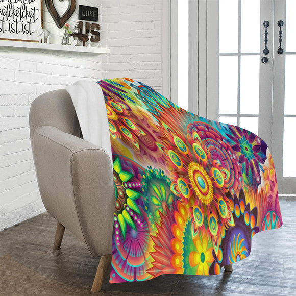 FOX PRODUCTS- Ultra-Soft Micro Fleece Blanket- The 20 Suns 50