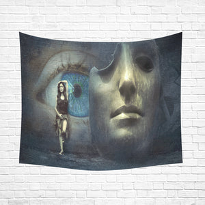 "Wall Tapestry Mask Off 60""x 51"""