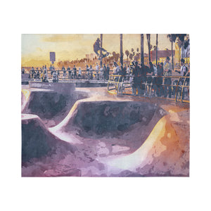 "FOX PRODUCTS- Wall Tapestry A Skater's Dream 60""x 51"""