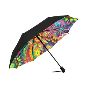 Anti-UV Automatic Sunny Umbrella (Underside Printing)