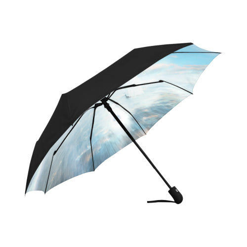 Anti-UV Automatic Ascension Umbrella (Underside Printing)