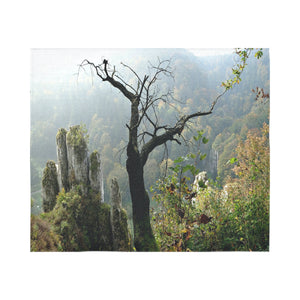 "FOX PRODUCTS- Wall Tapestry The Old Tree 60""x51"""