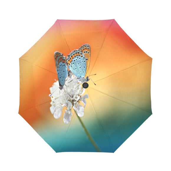 Automatic Foldable Butterfly Stem Umbrella