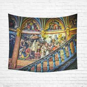 "Wall Tapestry Cathedral Mural 60""x 51"""