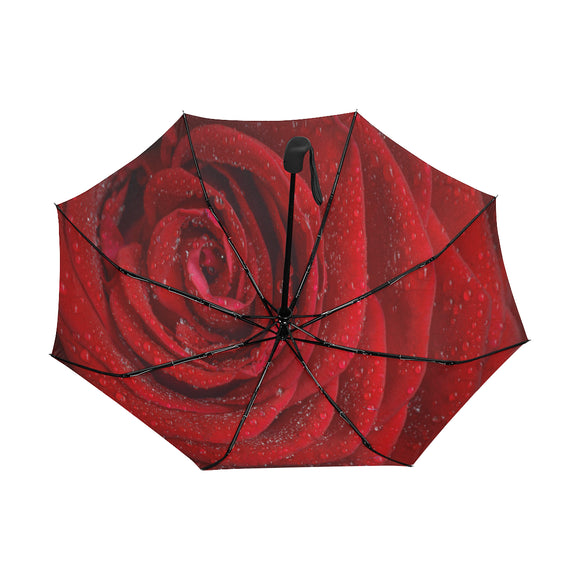 Anti-UV Automatic Rosa Umbrella (Underside Printing) (Model U06)