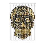 "FOX PRODUCTS- Window Curtain 52"" x 72"" (One Piece) Sugar Skull"