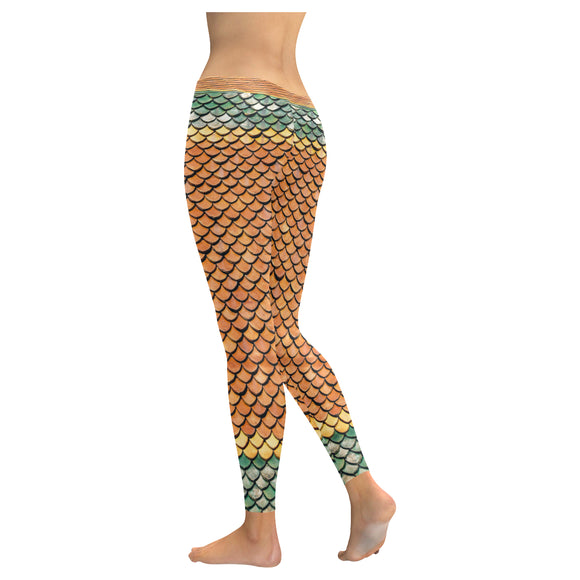 Leggings Mermaid- Women/Kids (5 colors)