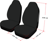 Car Seat Cover Retro Airbag Compatible (Set of 2)