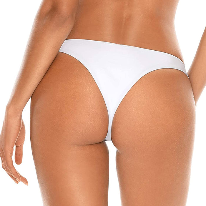 Minimalist Cheeky Fit Brazilian Bikini Bottom