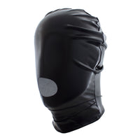 YiFeng Men Women GIMP Mask Open Mouth Hood Bondage Fetish Restraint Roleplay Cosplay 8