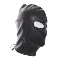 YiFeng Men Women GIMP Mask Open Eyes Hood Bondage Fetish Restraint Roleplay Cosplay 10