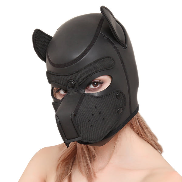 Puppy Mask | Hood Leather | YeahMaster