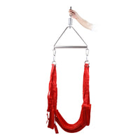 YiFeng Sex Swing Bondage w/ Steel Triangle Frame For Couple Love Restraint Fetish 14