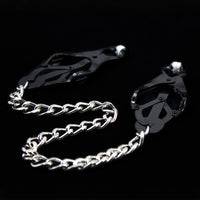 YiFeng Nipple Clamps Breast Clips w/ Metal Chain Bondage Restraint Fetish 27