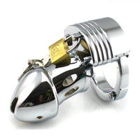 YiFeng Hot Adjustable Male Chastity Cage Device Belt Restraint CBT Bondage Fetish Gay