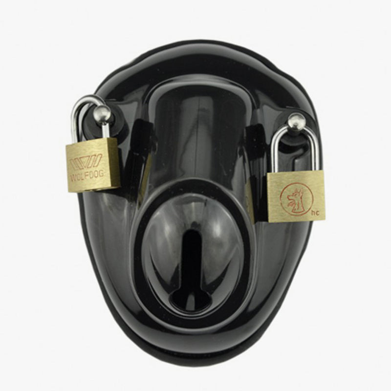 YiFeng Polycarbonate Male Bowl Cage Chastity Device Belt Restraint Bondage Fetish 26