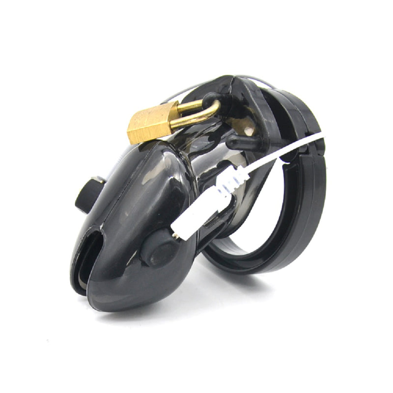 YiFeng Male Electro Chastity Cage Device Belt Restraint Men Bondage 62