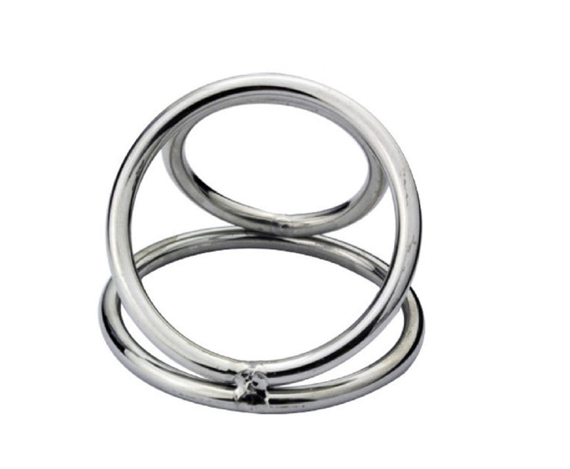 YiFeng Stainless Chastity Device Penis Ring Ball Enhancer Impotence Sex Aid 64