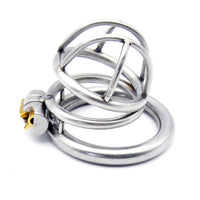 YiFeng Stainless Steel Male Chastity Cage Device Belt Restraint Men Bondage Fetish 118