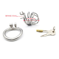 YiFeng Stainless Steel Male Chastity Cage Device Belt Restraint Men Bondage Fetish 122